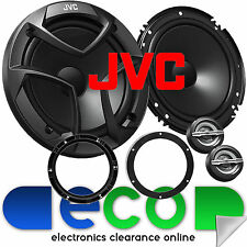 VW Polo 9N3 2005-2009 JVC 16cm 600 Watts 2 Way Front Door Car Component Speakers