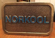 VTG Norkool Belt Buckle~Dow Chemical~Industrial Coolants~Degreasers~Oil & Gas