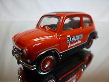 CHINA?  FIAT 600 - UN RAMAZZOTTI FA SEMPRE BENE - RED + BLACK 1:43 - GOOD