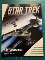 Eaglemoss Star Trek 2009 Movie Klingon Battle Cruiser Ship Replica W/ Magazine