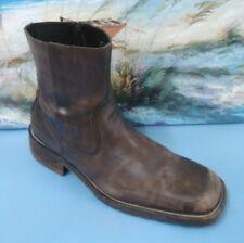 Lavorazione Artigiana Size 45/12 Brown Ankle Dark Brown Boots Mens Shoes