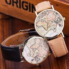 mappamondo Orologio inserti vari dorati colori moda vintage bracciale analogicog