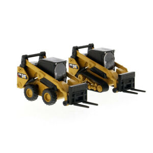 Diecast Masters 85693 1/64 Scale Cat 272D2 Skid Steer & 297D2 Track Loaders