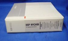 HP 8920B RF Communications Test Set  Programmer's Guide