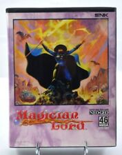 ++ Magician Lord - Neo Geo AES 100% legit BRAND NEW SEALED RARE !!!! ++