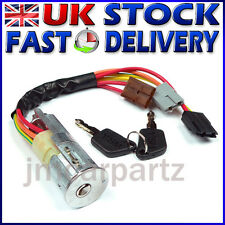 Ignition Lock Barrel & Keys PEUGEOT PARTNER EXPERT 806 106 --- FIAT SCUDO ULYSSE
