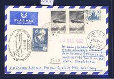 52954) LH CRJ FF Köln - Stockholm 2.11.92, Karte Russland UDSSR