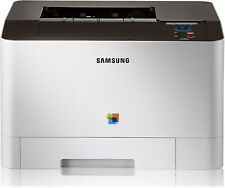 SAMSUNG CLP-415N Farblaserdrucker LAN inkl. neue Toner 4.510 S.