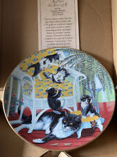 Just For The Fern Of It Country Kitties 1988 Hamilton plate Gre' Gerardi 4255D