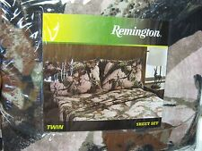 Remington Pink Camouflage Bed Sheets & Pillowcase Set Twin Size Pink Camo