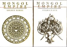 Mongol Empire (2-Deck Set) Playing Cards - Limited Edition 1000