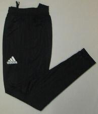 Men's Adidas Tiro 17 Training Pants, New Black Climacool Soccer Sweat Pant Sz S