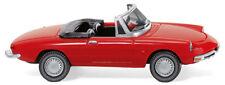 WIKING Modell 1:87/H0 PKW Sportwagen ALFA Spider rot #020601 NEU/OVP