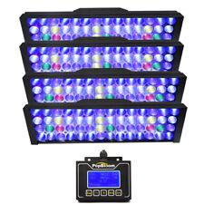 """2pcs Popbloom LED Aquarium Light Full Spectrum for 48"""" Reef Coral Marine Tank"""