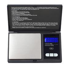 Tragbar Mini Digitalwaage 0.01-500g Digital Feinwaage Goldwaage Präzisionswaag