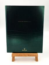 News Rolex Catalogue 2011-2012 Italian Hardback Green Emerald Collection