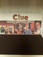 Vintage 1986 Original CLUE Detective Board Game Parker Brothers 100% complete!!
