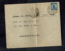 1923 Harbin Manchuria China Cover to Halberstadt Germany via Russia