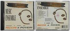 IL MEGLIO DEI RICCHI E POVERI BY MUSIC ENSEMBLE CD 1994