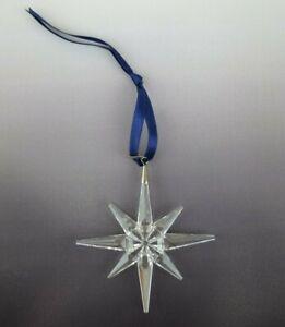 Beautiful 1995 Swarovski Christmas Holiday Star Ornament