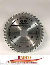 (paquete de 2) Amoladora Angular 115mm de hoja de sierra para madera de 40 hoja TCT dientes