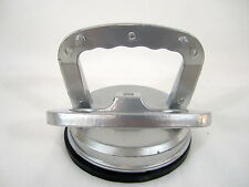 """Aluminum Suction Cup Dent Puller Glass Holder 4 1/2"""" 70lb Capacity Locking Hand"""