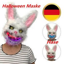 Bunny Rabbit Bloody Creepy Scary Mask Halloween Horror Killer Kostüm