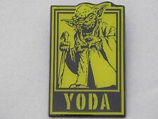Star Wars Tokyo Disney Resort Poster Yoda Pin