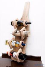 Casier à vin Porte bouteille Support à vin en bois mural Décoration sur bar