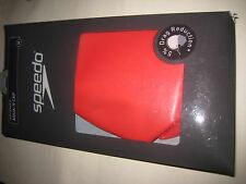 Speedo Aqua V swimming cap, Medium, Red,New
