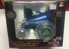 THUNDER Tumbler Radio CONTROL OFF ROAD CAR,VEHICLE TOY Blue Hat Toy Company Blue