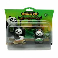 """Dreamworks Kung Fu Panda 3 """"PO & BAO"""" Action Figure Pack Toy Brand New"""