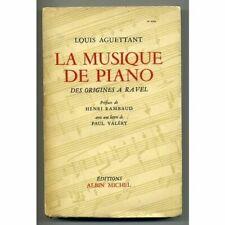 La musique de piano des origines a ravel avec une lettre de paul Val_ry by Ag...