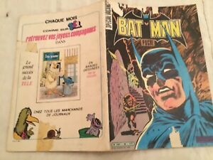 BD,  Batman Poche  Sagedition 1980