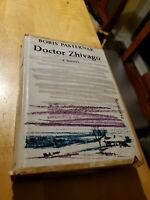 Doctor Zhivago 1958 by Boris Pasternak, 1st edition, 1st printing, hcdj
