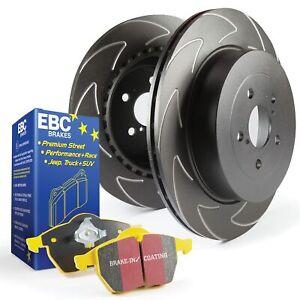 EBC Front BSD Brake Discs & Yellowstuff Pads Kit For VW Golf Mk5 Gti 2.0T TFSI