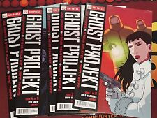 Ghost Projekt (Oni Press) #1-5 (1,2,3,4,5) Set Joe Harris Steve Rolston NBC TV