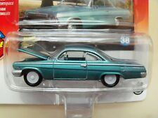 JOHNNY LIGHTNING - WHITE LIGHTNING - MUSCLE CARS U.S.A.- 1962 CHEVY BEL AIR 1/64