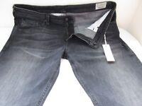 New Men's Diesel Thavar Jeans ORZ40 Slim Skinny Trouser Stretch Blk Denim 19G