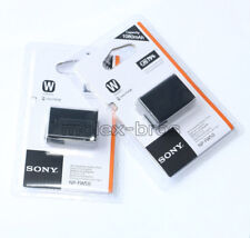 Two NP-FW50 Battery For Sony Alpha NEX-3 3C 3D 3DW 3K 5 5K 5C NEC-5DB 5HB A55
