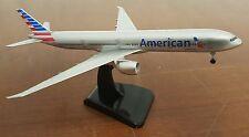 19cm American Airlines AA Boeing 777 - 300 Metal Aircraft Plane Model Aeroplane