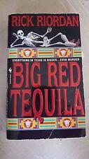 "Rick Riordan, ""Big Red Tequila,"" 1997,Bantam, VG, 1st signed"