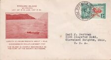 1940 Pitcairn Island #1 on Cacheted cover to US; Alta Christian Signature  *d