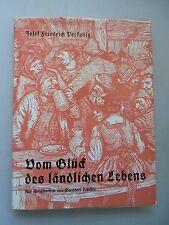 Vom Glück des ländlichen Lebens 1953 Landleben Volkstracht Hirtenleben ...