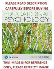 Educational Psychology by Woolfolk 14th International Softcover Edition Same Bk