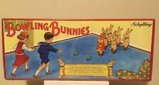 Bowling Bunnies Soft Pins Parlor Games Schylling Sealed New