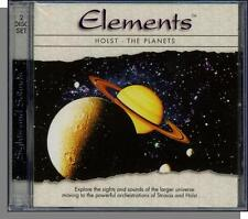 Elements: Holst, The Planets - New Classical Muisc CD + NASA Space DVD! New!