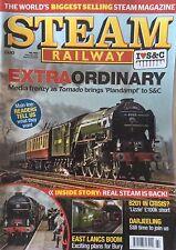 Steam Railway Magazine.  February/March 2017. East Lancs Boom In Bury.  TORNADO