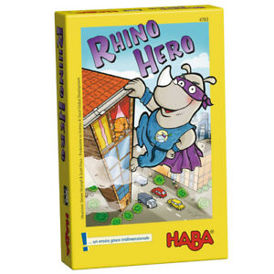 HABA 4783- Rhino Hero - gioco da tavolo