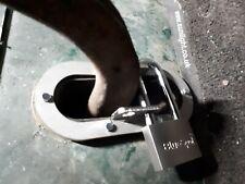Land Rover Series 2 & 3 Handbrake Lock Heavy duty stainless steel with padlock
